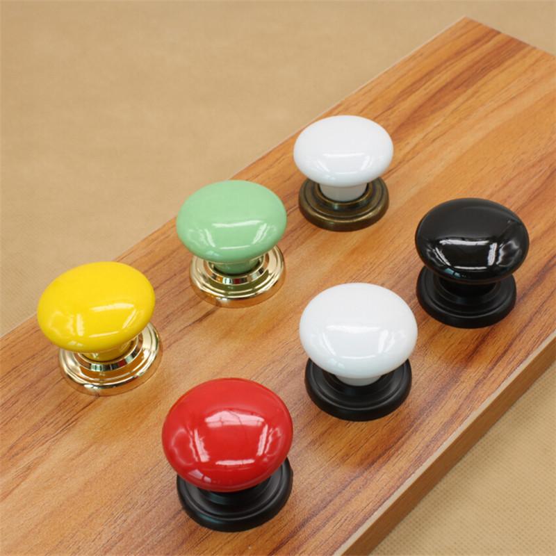 Гаджет  Ceramic Cabinet Knobs Cupboard Closet Dresser Knobs Handles Pulls Kitchen Bedroom Furniture handle knobs hardware 10PCS None Мебель