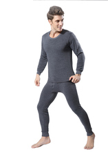 2015 Winter Mens Warm Thermal Underwear Mens Long Johns Sexy Black Thermal Underwear Sets Thick Plus Velet Long Johns For Man(China (Mainland))