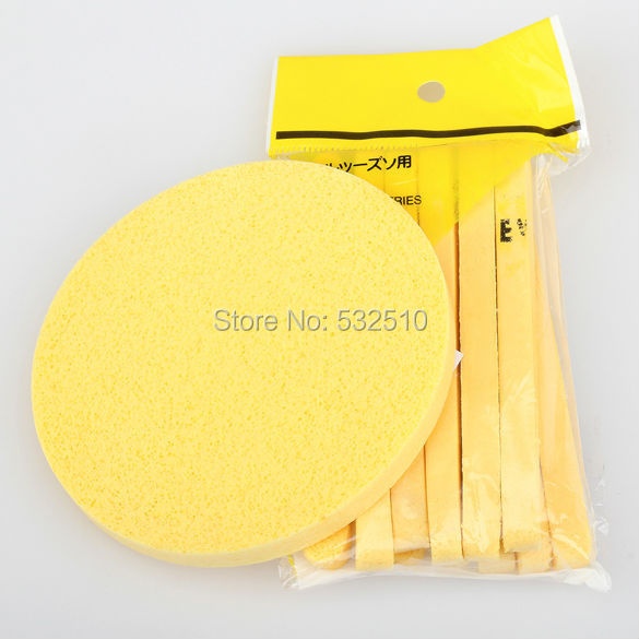 6 Pair Compressed Sponge Foam Mat Pad New Cleaning(China (Mainland))