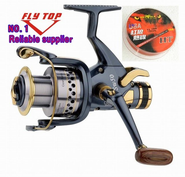 High quality  6000 size 10ball bearings  carp fishing reels  baitrunner reels   spinning  reels