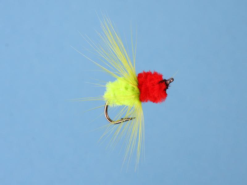 100 Pcs Polar Shrimp Red/Green Salmon Sea Trout Fly Fishing Flies(China (Mainland))