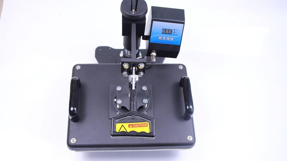 Купить Бесплатная доставка печатная машина 7 в 1 combo heat transfer машина для кружка Футболки закрывающей пластины печать in1 жары машина