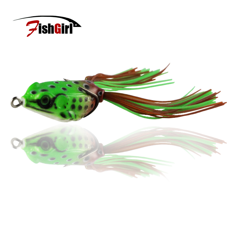 Wholesale hot 2016 new small ray frog lure 40mm 5g wobbler for Frog lures for bass fishing
