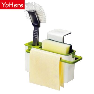 Yohere sucker debris rack storage rack kitchen utensils rack storage box kitchen organizer plastic box sponge holder pratos(China (Mainland))