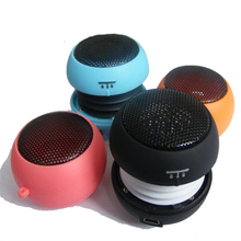 Colored Mini Portable Hamburger Speaker Music Amplifier(China (Mainland))