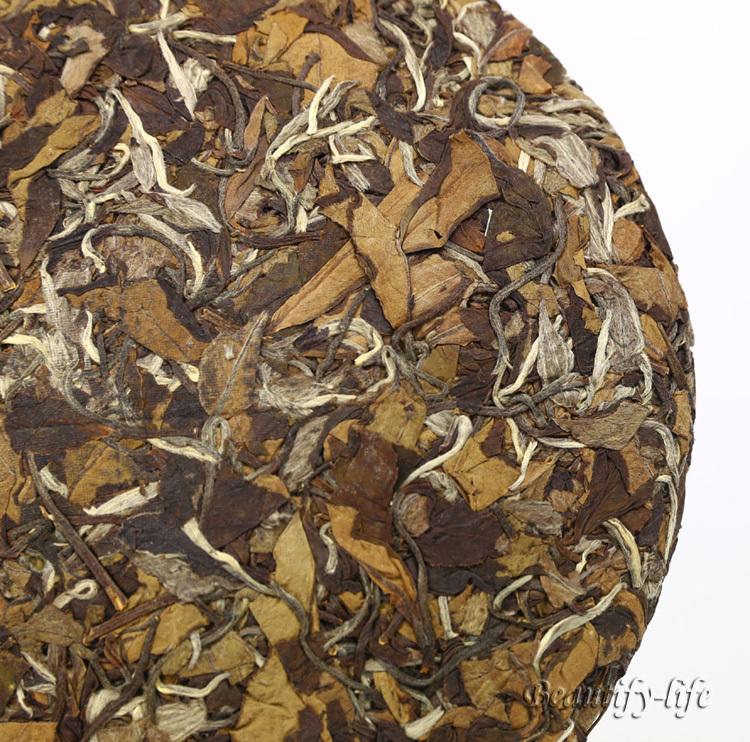 2009 High Mountain Organic White Tea 350g Aged White Peony China Fuding tea Cha low blood