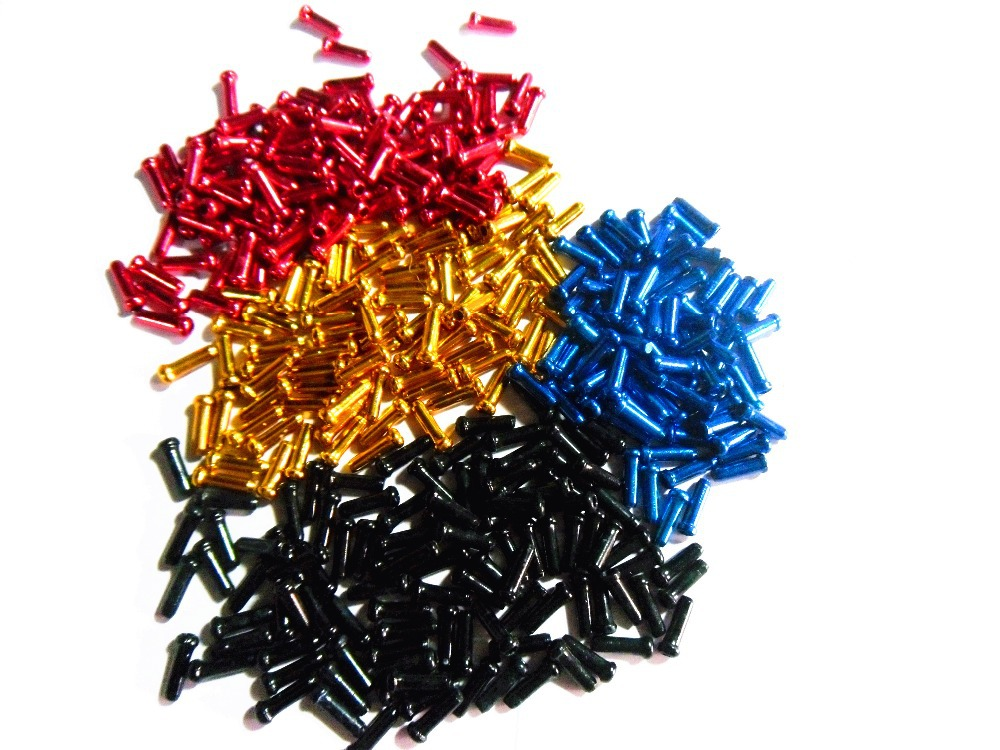 hot MTB brake line cap hat accessories mountain road bike 5000PC color AVID BB5 BB7 Disc Bicycle parts - Amini outdoor living supplies supermarket store