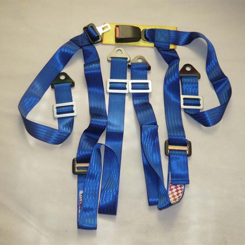 2016 brand new car driving belts / racing seat belt / 2-inch four-point seat belt / Cinturones de seguridad Racing(China (Mainland))