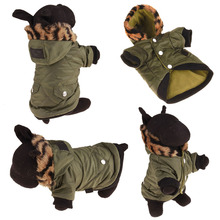 Buy Thickening Warm Pet Clothing Dog Clothes Winter Small Dogs Coats Jackets Windproof Hoodies Dog Costume Roupa Para Cachorro for $9.47 in AliExpress store