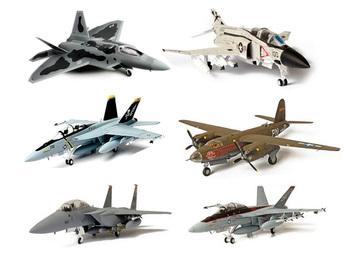 Fov 2 f22 f18 f15 f4 j b26 modern fighter alloy model