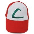 Game Pokemon Go Hat Anime Cosplay ASH KETCHUM Cap Costume Play Ketchum Hat For Men Women
