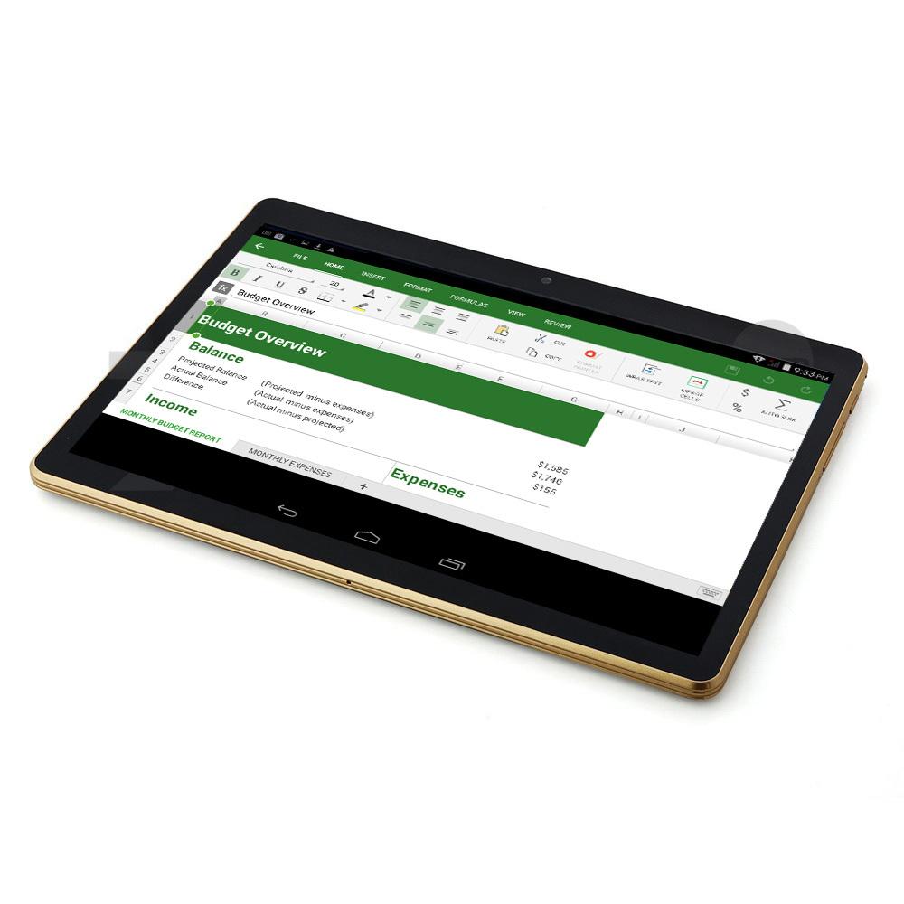 Octa Core 3G Tablet PC SIM Phone Call GPS Android 4 4 2GB ram 16GB Rom