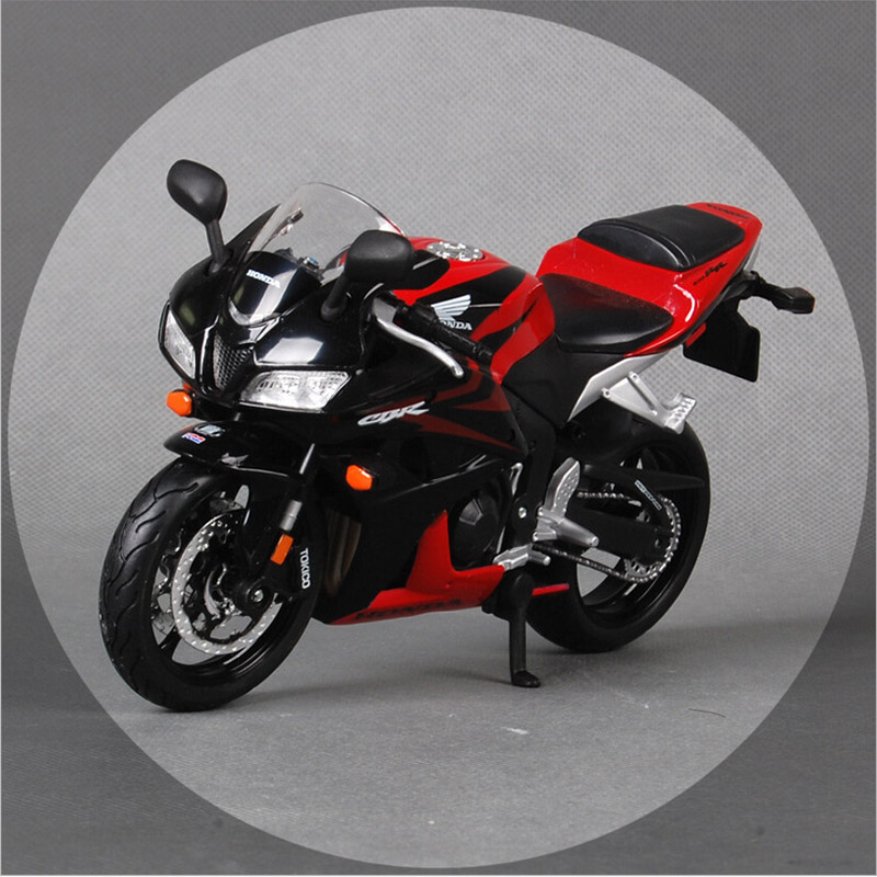 1:12 Maisto brand children Honda CBR 600RR Die cast model motorbike motor cycle race car miniature metal collection gift toys(China (Mainland))