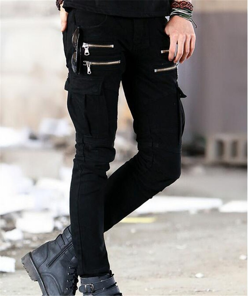 Compare Prices on Mens Cargo Moto Jeans- Online Shopping/Buy Low