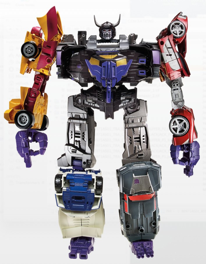 5Pcs/set Stunticons build up to Menasor car robot action figure classic toys for boys G1 robots with retail box CM0002<br><br>Aliexpress