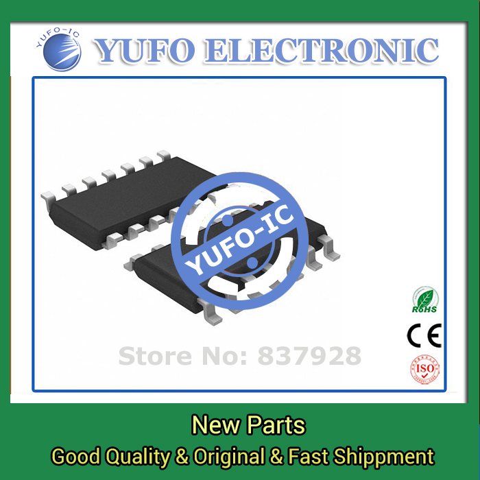 Free Shipping 10PCS TLC27M4BCD genuine authentic [IC OPAMP GP 635KHZ 14SOIC]  (YF1115D)