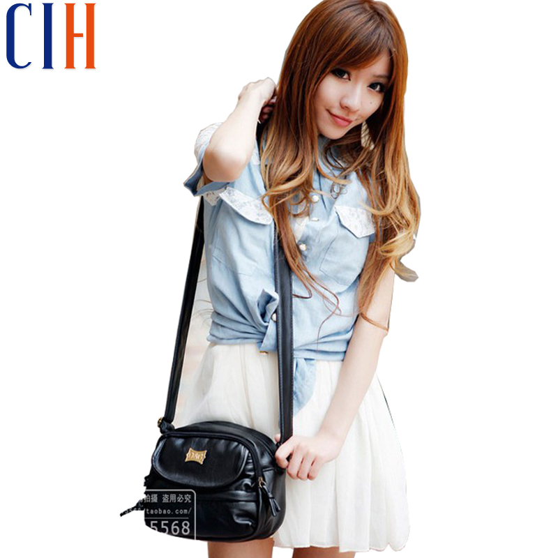 Charm in hands! 2015 New Mini Korean Style Women Messenger Bags Retro Japanese Popular Women Bag Good Quality Bolsas LS1754C(China (Mainland))