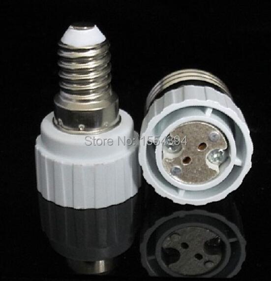 best wholesale 5pc led lamp holder E14 TO MR16 Fire retardant Socket light base holders FOR lamps bulb lights Freeshiping(China (Mainland))