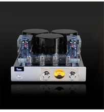 YAQIN MC-13S Integrated ultra-linear amplifier vacuum tube push-pull amplifier 6CA7Tx4 Pre-amp SRPP circuit 2x40W 110V ~ 220V