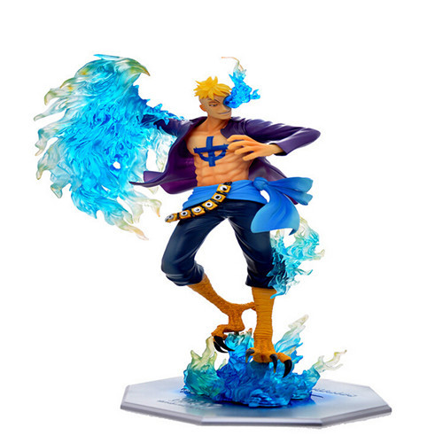 Anime One Piece P.O.P Pop Dx Mas Marco The Phoenix Battle Ver. Boxed Pvc Action Figure Collection Model Toy T53(China (Mainland))