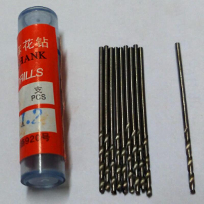 50Pcs Micro HSS Straight Shank 1.2mm High Speed Steel Mini Twist Drill Bits, Electric Drill, Power Tools Hole Saw  Free shipping<br><br>Aliexpress