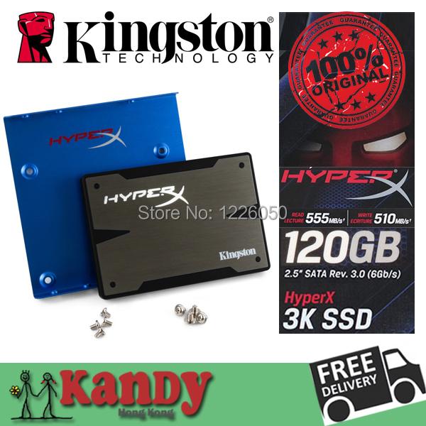 Kingston HyperX 3K SSD 120GB hd ssd 128gb SATA external hard drive disco duro externo laptop computer portable solid state disk(China (Mainland))