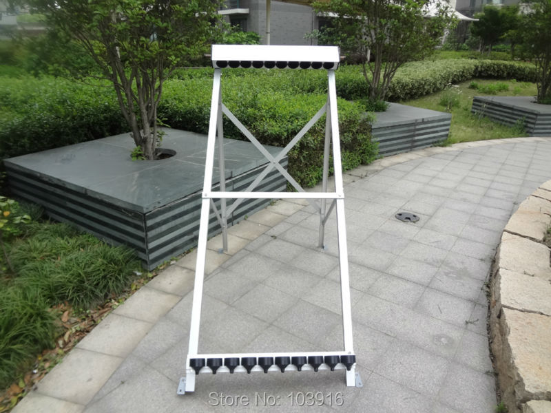 1 set of manifold (10 holes) with bracket for solar collector ( tube 58*1800mm), solar water heater(China (Mainland))