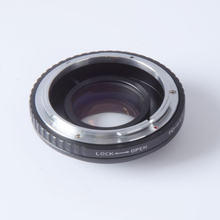 Buy Focal Reducer speed booster turbo adapter Canon FD Lens m4/3 mount camera GF5 GF6 GX7 EM5 E-PL6 E-PL5 E-PM2 OM-D for $68.62 in AliExpress store