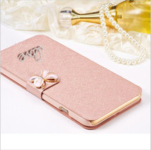 Buy Luxury PU leather Flip Cover Lenovo Vibe K5Note K5 Note K52t38 A7020 A7020a40 Phone Bag Case Cover LOVE & Rose Diamond for $2.82 in AliExpress store