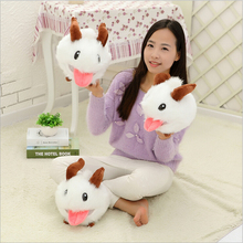 Buy Hot Sale 2015 LOL Poro plush toy Poro Doll Legal Edition High 25 cm 1pcs Free Gift Home Decration for $9.20 in AliExpress store