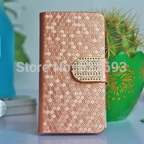 New Luxury Leather PU Mobile Cases For Phone Sony Xperia M4 Aqua Flip Wallet Cover With Stand Card Holder For Xperia M4 Aqua(China (Mainland))