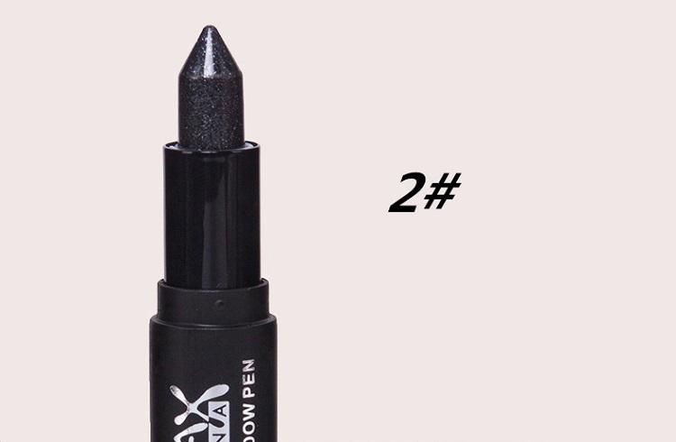 Colored Eye Shadow Pencils,Metallic Eyeliner Pen Glitter Eyeshadow Cosmetics,Star Headed Eye Liner Brand Make-up Essential.