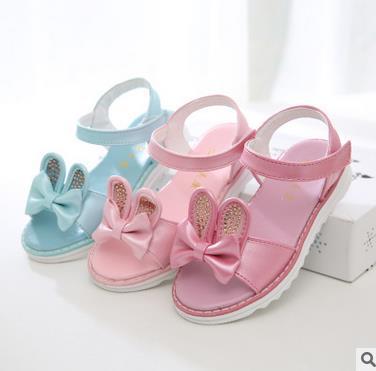 Girls leather sandals summer 2016 princess female childrens cartoon fashion beach elsa princess shoes sandale enfant 715b<br><br>Aliexpress
