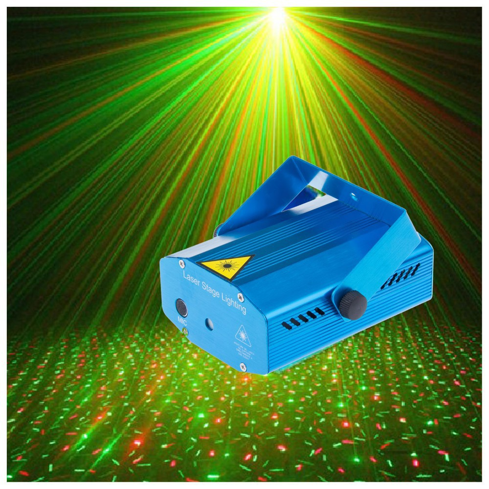 Mini RG Projector Holographic Laser