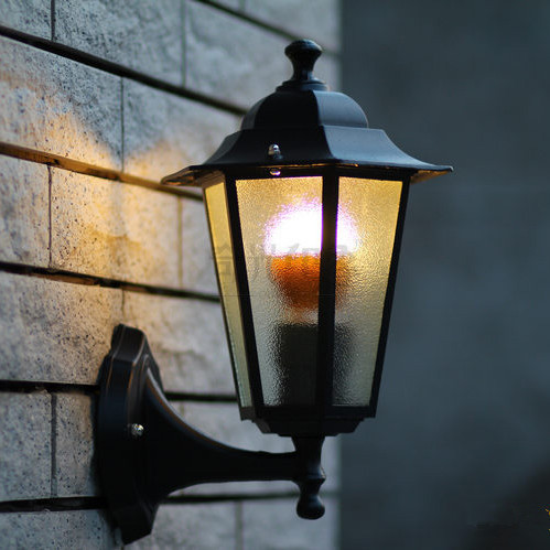 Vintage Europe Outdoor Gardeb Wall Lamp 220V/110V Waterproof Wall Sconces applique exterieur Warm white/Cool white E27 LED Bulb<br><br>Aliexpress