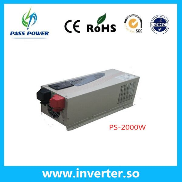 CE,ROHS Approved, Low frequency household dc to ac pure sine inverter 2000w(China (Mainland))