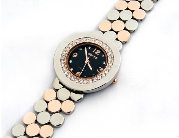 Korean Business Women Full Steel Bracelet Watches Elegant Brand Fashion Crystals Dress Wristwatch Quartz Analog Reojes NW4472<br><br>Aliexpress