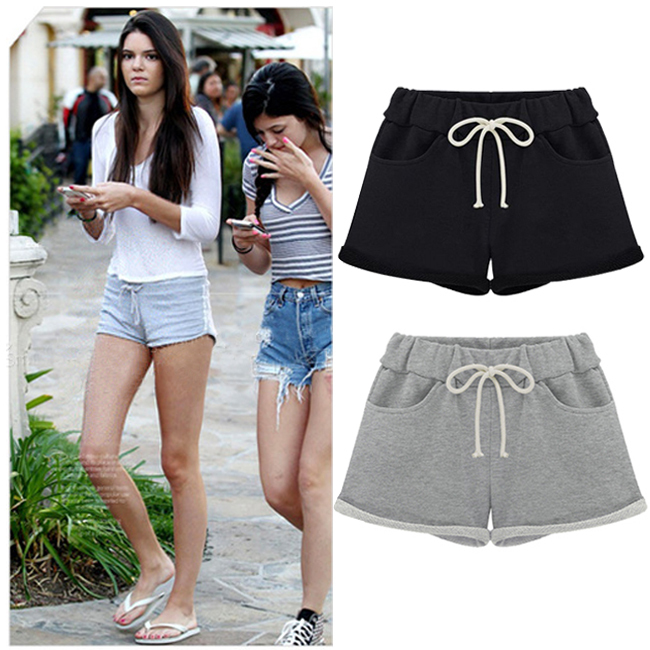 2014 summer new womens sports tie dye shorts ladies