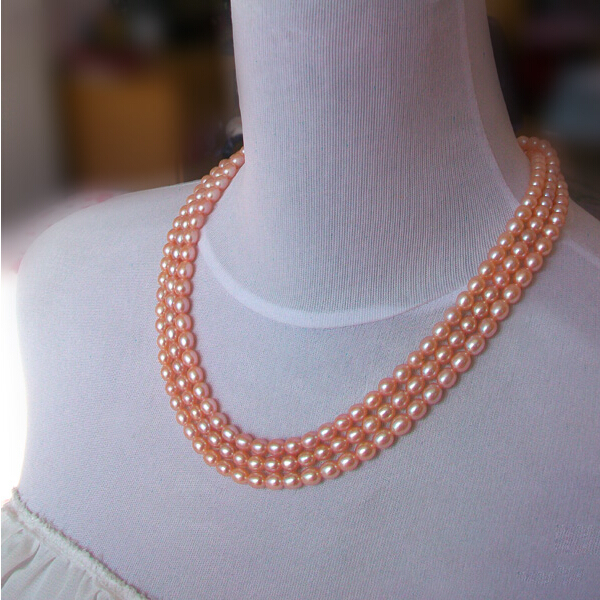 Fashion Long Multilayer Natural Pearl Necklace Drop-shaped Choker Charm Women Accessories Statement Necklace Jewelry For Women