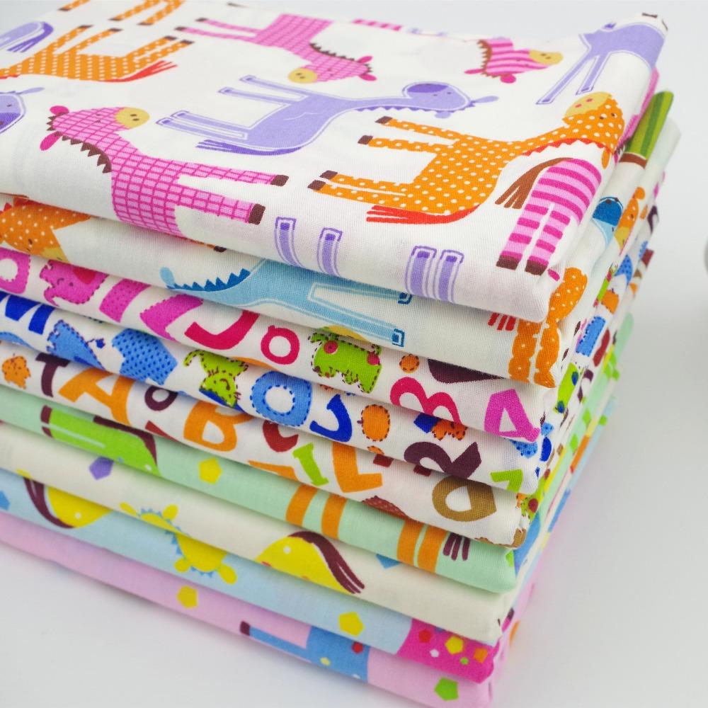 8 pcs 40 cm 50 cm b b cheval 100 coton patchwork matelass textile tissu de graisse - Tissu matelasse pour bebe ...