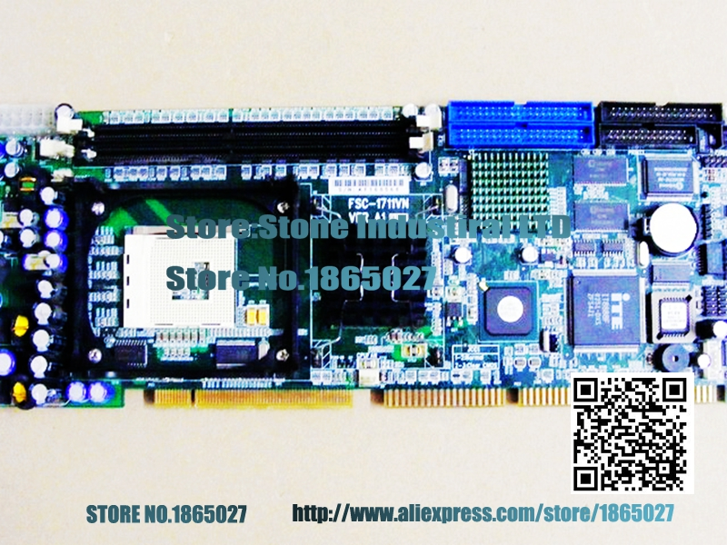 FSC-1711VN VER: A1 Industrial Motherboard P4 IPC card 100% test(China (Mainland))