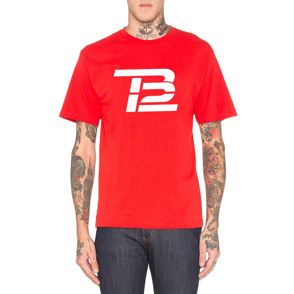 Loo Show Mens Tom Brady TB12 T-Shirt Tee(China (Mainland))