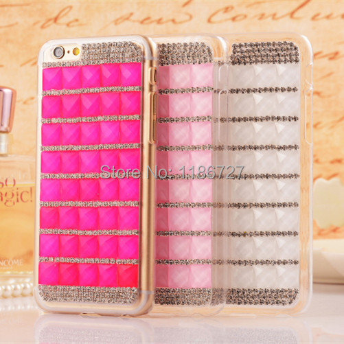 Apple iPhone 6 Case Luxury Diamond Bling Moblie Phone Cases Back Cover 6s - SHENZHEN HUAQIANGBEI ZHUOYUE TECHNOLOGY store