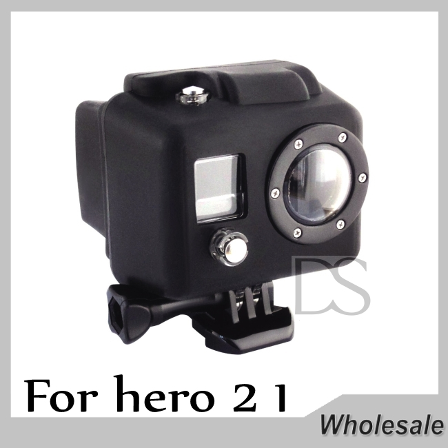 Silicone Protective Case Cover Soft Rubber Skin Jelly Housing For Gopro Hero 1 2(China (Mainland))