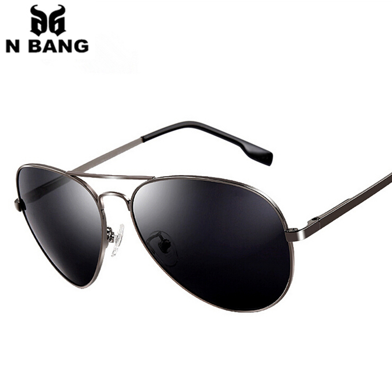 New Polarized 2015 sunglasses men Aviator style pilot design nine colors day ans night vision fashion UV protect  free shipping(China (Mainland))