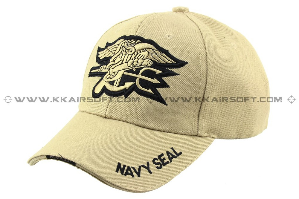 baseball and hat Navy Seal logo Tan [CP-13-TAN] sports cap(China (Mainland))
