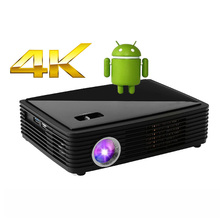 LUXCINE Z3000 Home theater Portable DLP 3D LED android 4.4 smart Projector 4K chipset Ultra Full HD cinema movie proyector(China (Mainland))