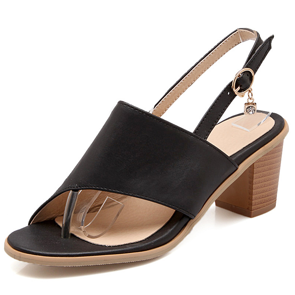 Lastest 2015 Summer New Style Women Sandals Low With Comfortable Leisure