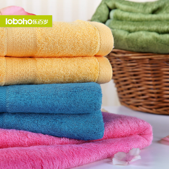 Centenarian bamboo fibre bath towel baby plus size thickening bath towel