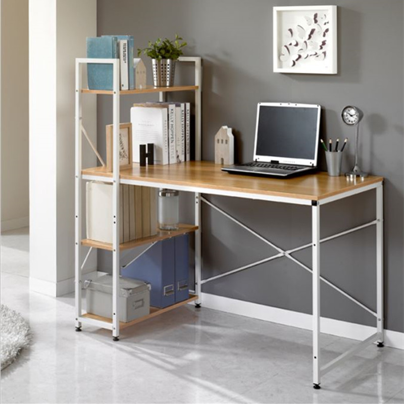 office desk ikea creative study minimalist style rectangular small
